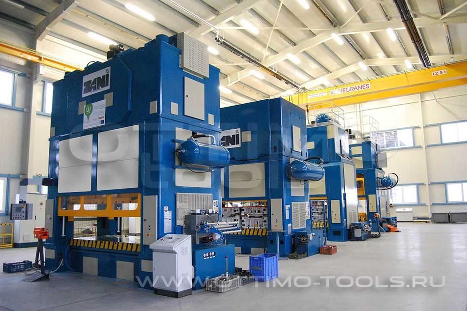 """Прессы и оборудование для холодной штамповки листового металла """"ZANI"""""""